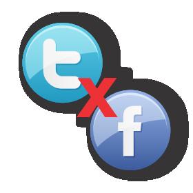 Facebook x Twitter
