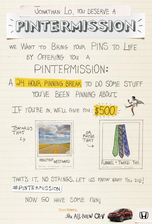 Pintermission - Jonathan Lo