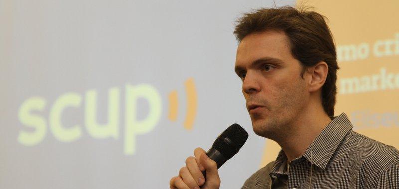 Eliseu Barreira Junior, do Scup, no Content Marketing Brasil, da Tracto