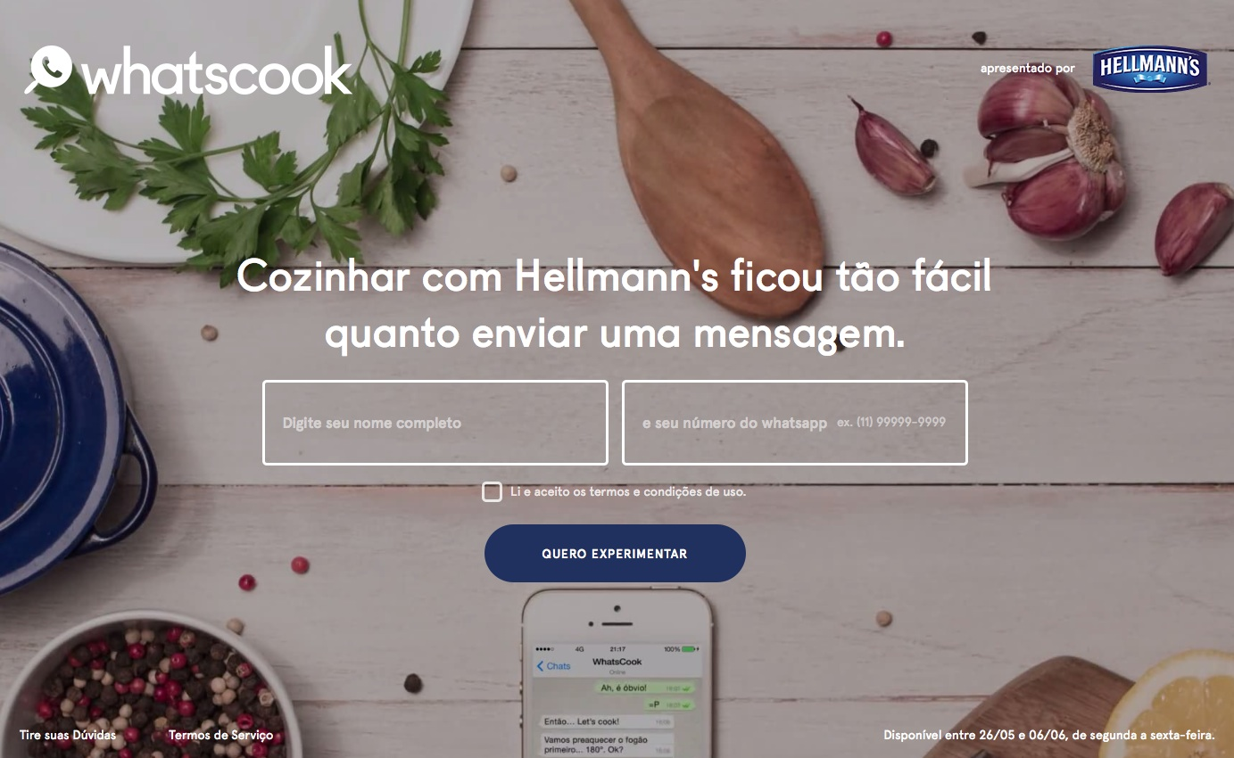 Hellmann's no WhatsApp