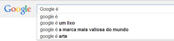Busca no Google - Google