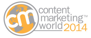 Logo Content Marketing World 2014