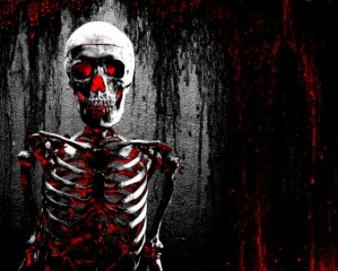 Terror. Morte. Esqueleto. ID-10055910 - free from freedigitalphotos.net