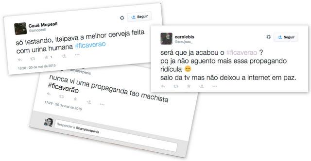 Campanha FicaVerao no Twitter