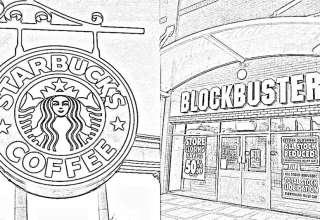 A diferença entre eficiência e eficácia - Thumbnail - Starbucks e Blockbuster