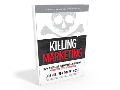 Killing Marketing - capa 3D