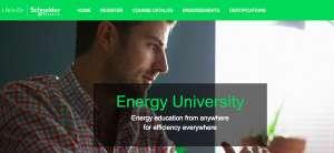 Print Screen Schneider Eletric - conteúdo educativo