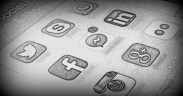 conteúdo em redes sociais