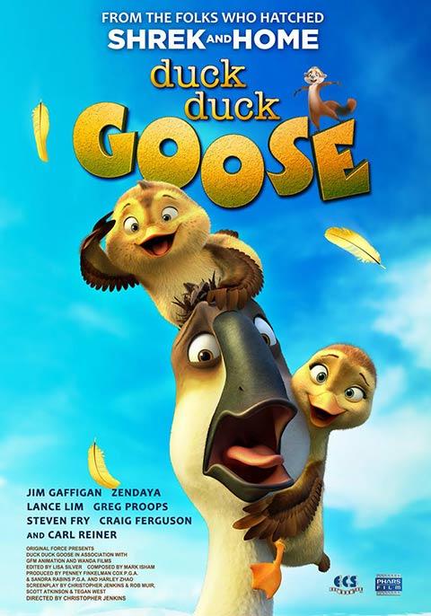 """O nome """"Duck Duck Goose"""" é tão popular nos Estados Unidos que em 2018 virou um filme de animação, disponível no Netflix. T"""