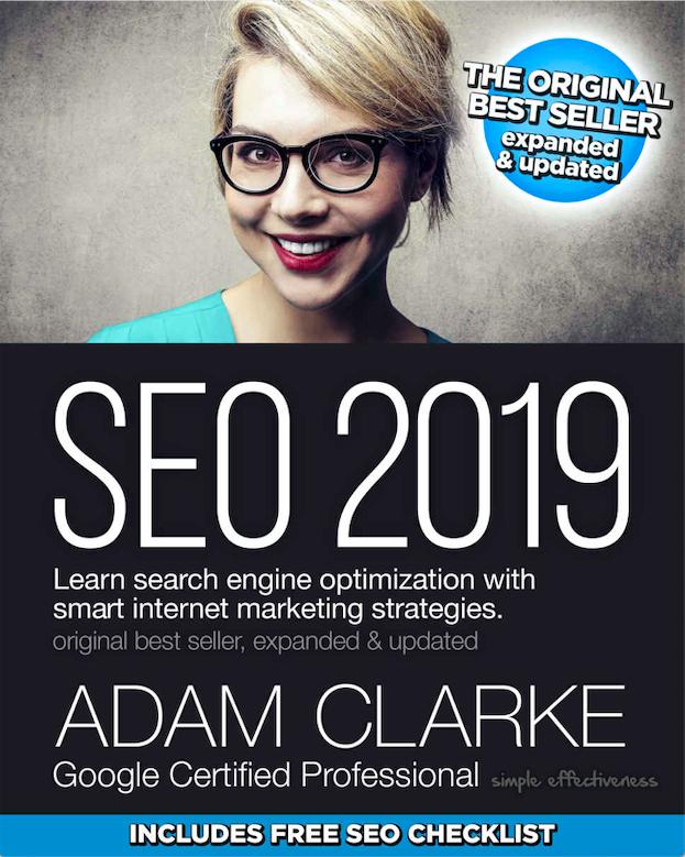 Livro SEO 2019, de Adam Clarke