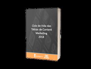 Ciclo de Vida das Táticas de Content Marketing 2018