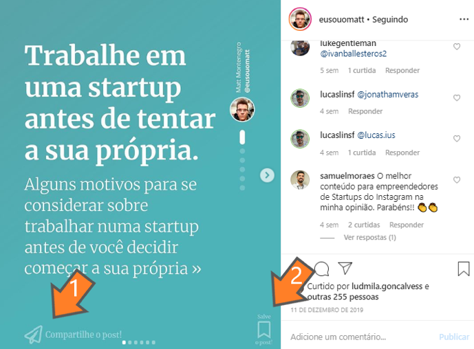 Content marketing para o Instagram